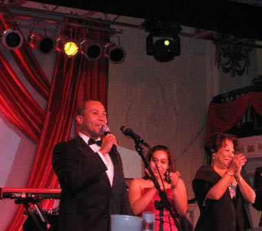 Deval Patrick, wife Diane Patrick, and daughter Katherine Patrick, Out for Equality Inaugural Ball 2009