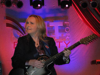 Melissa Ethridge, Out for Equality Inaugural Ball 2009