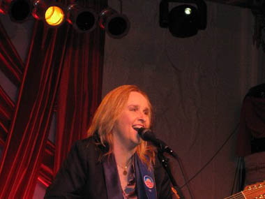 Melissa Etheridge, Out for Equality Inaugural Ball 2009