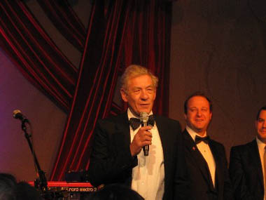 Sir Ian McLellan, Out for Equality Inaugural Ball 2009