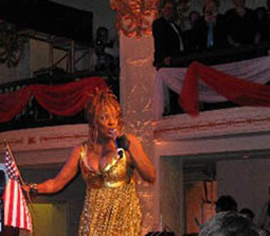 Thelma Houston, Out for Equality Inaugural Ball 2009
