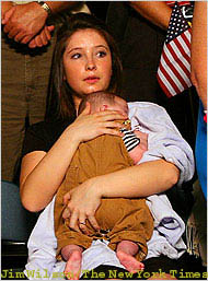 Sarah Palin Daughter Bristol Palin Pregnant
