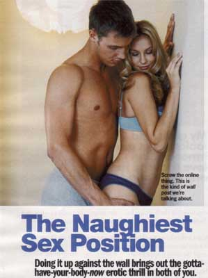 Cosmo Sept. 08 Headline Naughtiest