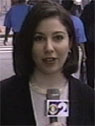 Sari reporting for CBS in New York